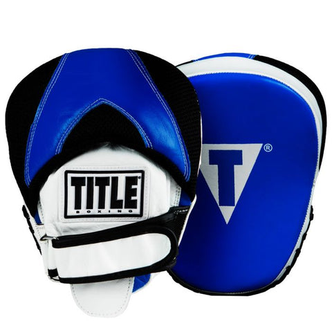 TITLE PUNCH FOCUS MITTS MANOPLAS