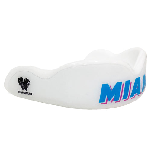 DC MOUTHGUARD ADULT CUSTOM MIAMI VICE - WHITE