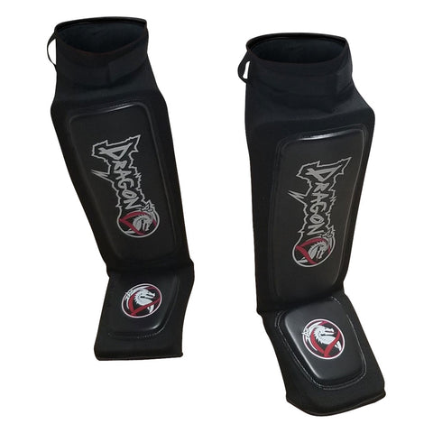 DRAGON DO SHINGUARDS INSTEP SYNTH. BLACK