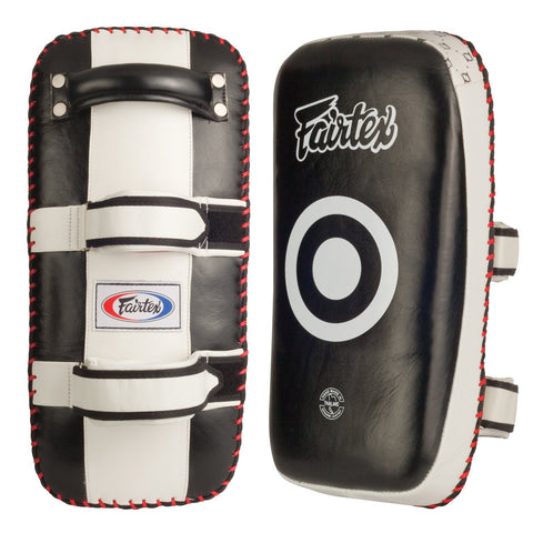 FAIRTEX THAI PADS KPLC2 PAIR BLACK/WHITE