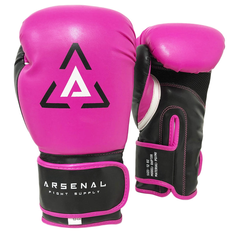 ARSENAL GLOVES RAPTOR BOXING -PINK/BLACK