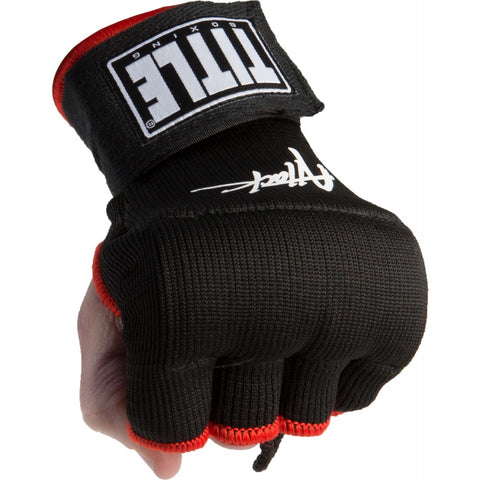 TITLE EASY WRAPS ATTACK NITRO SPEED WRAPS BLACK/RED