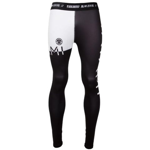 TATAMI SPATS 50/50 BLACK / WHITE - MSM FIGHT SHOP