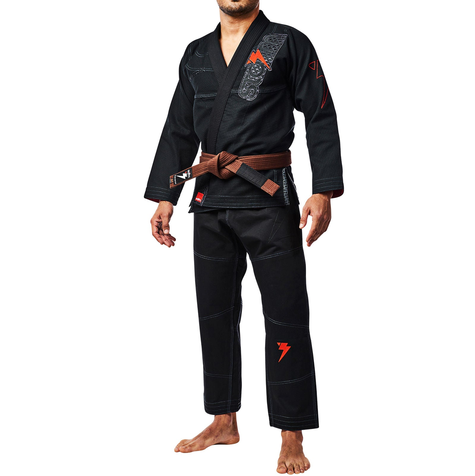 STORM GI STEALTH MATRIX KIMONO BLACK - MSM FIGHT SHOP