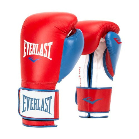 EVERLAST GLOVES POWERLOCK SYNTEC RED/BLUE