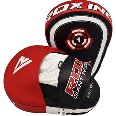 RDX FOCUS MITTS T1 RED/BLACK