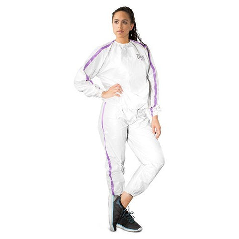 EVERLAST SAUNA SUIT WOMEN WHITE - MSM FIGHT SHOP