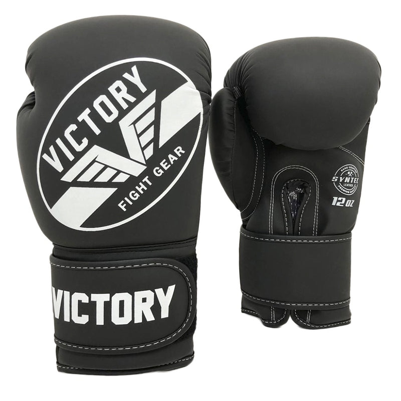 VICTORY GLOVES BOXING IMPACT SERIES V2 BLACK/WHITE