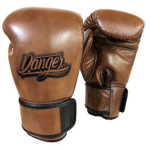 DANGER GLOVES THAI LEGENDS LEATHER VINTAGE BROWN