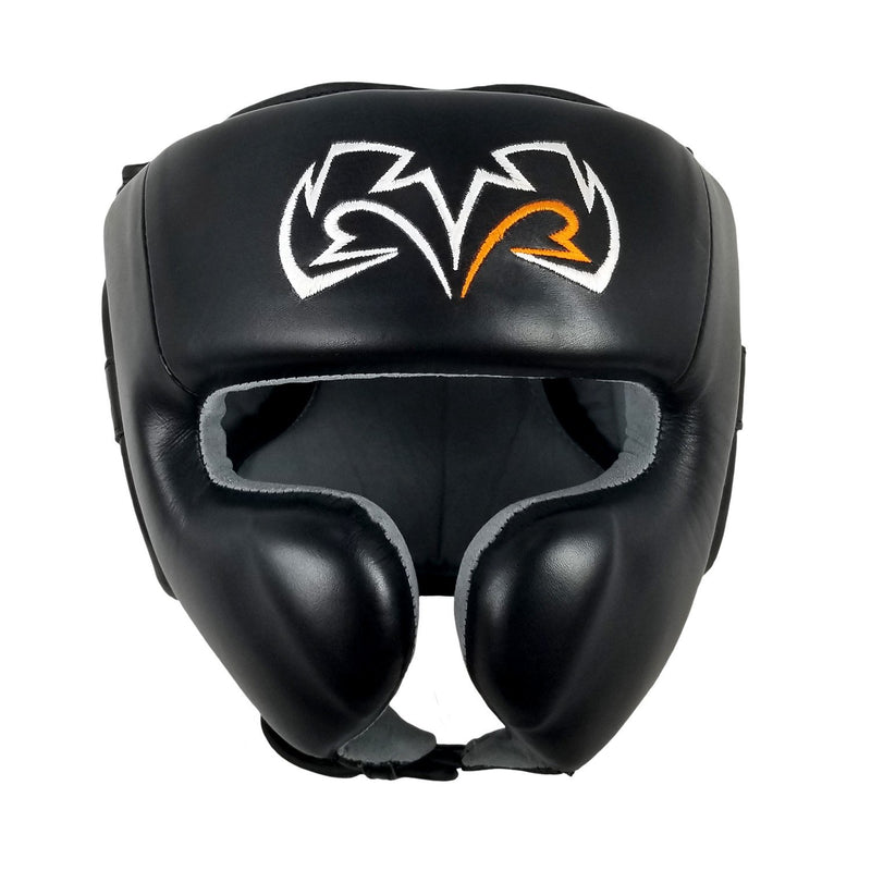 RIVAL HEADGEAR NO CHIN MEXICAN RHG30 BLACK