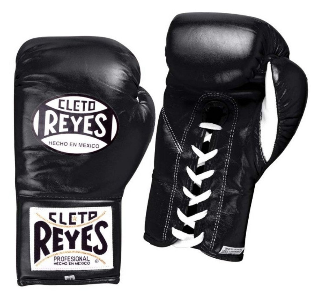 CLETO REYES FIGHT GLOVES TRADITIONAL BLACK - MSM FIGHT SHOP