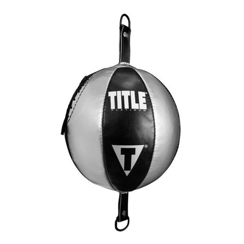 TITLE DOUBLE ENDED BAG PLATNIUM BLACK/SILVER