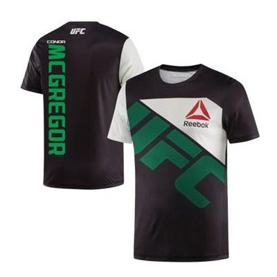 REEBOK UFC JERSEY WALKOUT CONOR MCGREGOR BLACK/GREEN