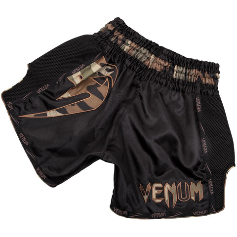 VENUM THAI SHORTS GIANT BLACK/CAMO - MSM FIGHT SHOP