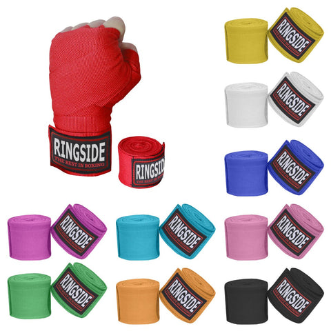 "RINGSIDE HANDWRAPS SEMI ELASTIC 180"" / 4.5M - MSM FIGHT SHOP"