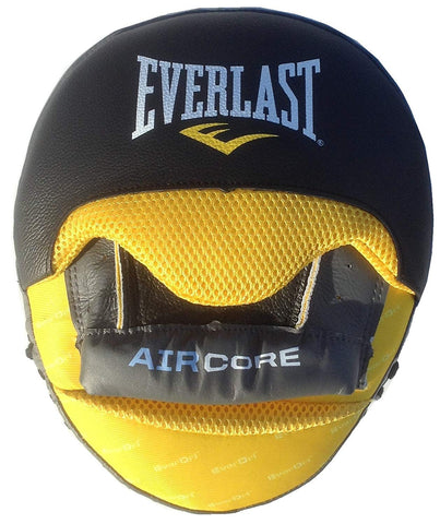 EVERLAST FOCUS MITTS AIRCORE - BLACK/YELLOW - MSM FIGHT SHOP