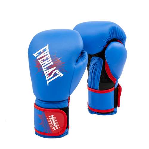 EVERLAST GLOVES YOUTH PROSPECT TRAINING BLUE/RED 8OZ