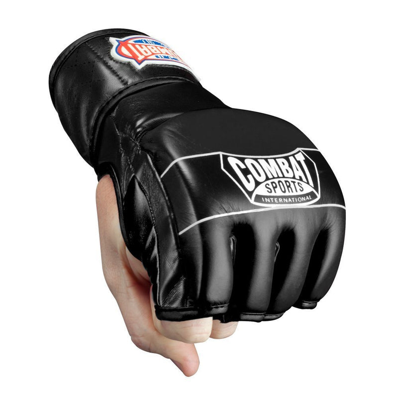 COMBAT SPORTS MMA GLOVES FG3S BLACK