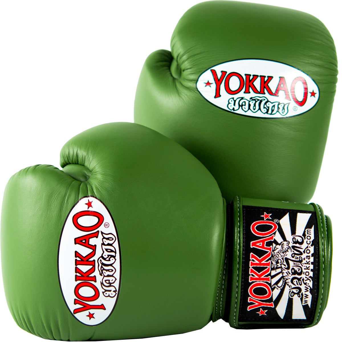 Yokkao Matrix Thai Boxing Gloves - Military Green