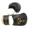 ARSENAL GLOVES FALCON VELCRO BLACK/WHITE/GOLD