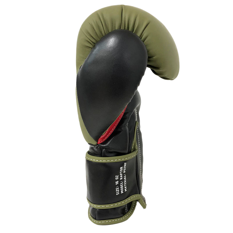 ARSENAL GLOVES RAPTOR BOXING - MILITARY GREEN