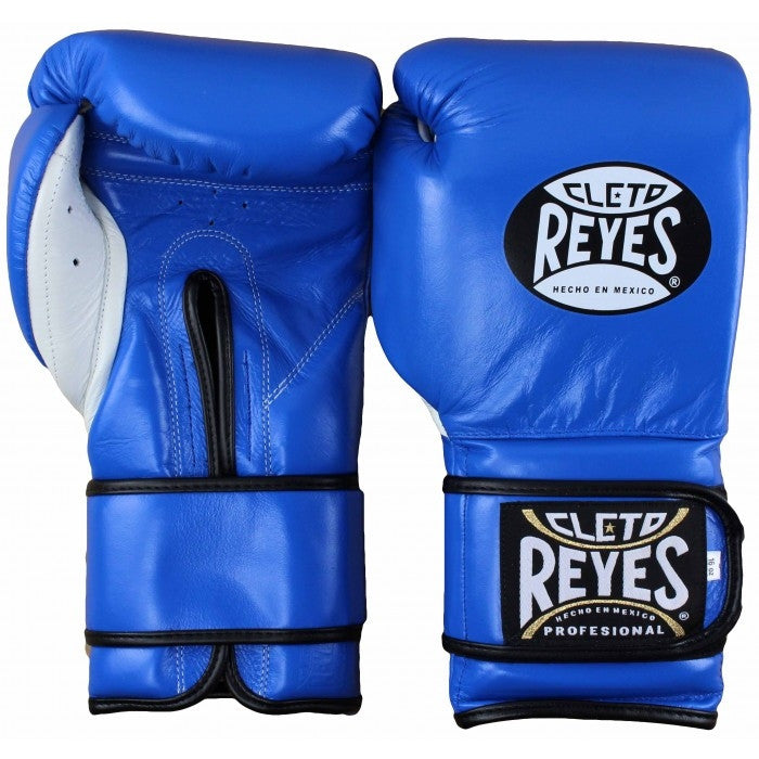 CLETO REYES GLOVES VELCRO BLUE - MSM FIGHT SHOP