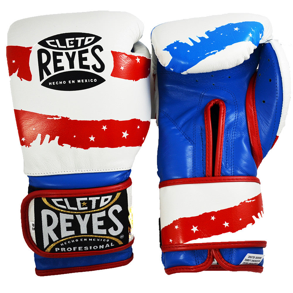 CLETO REYES GLOVES VELCRO USA FLAG - MSM FIGHT SHOP