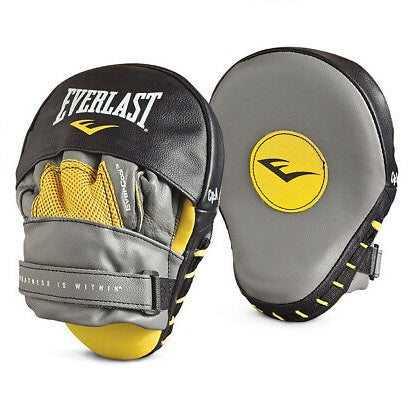 EVERLAST FOCUS MITTS MANTIS BLACK/GREY - MSM FIGHT SHOP