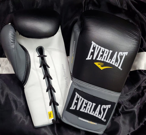 EVERLAST GLOVES POWERLOCK LACE BLACK/GREY