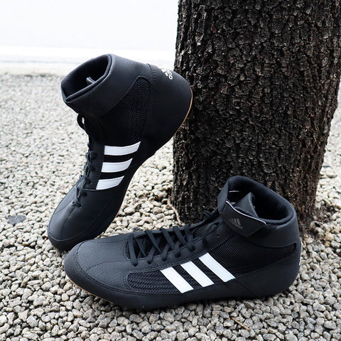 ADIDAS SHOES YOUTH HVC K BLACK/WHITE