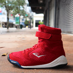 EVERLAST SHOES ELITE BOXING RED/WHITE