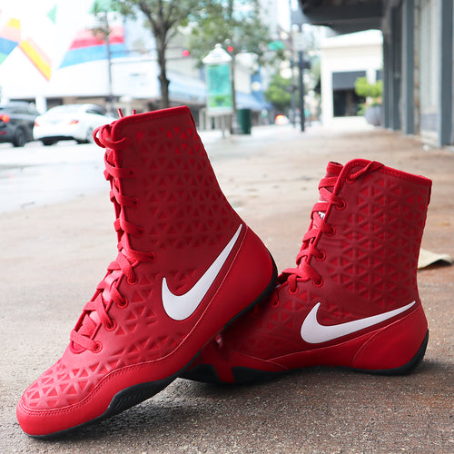 NIKE SHOES KO BOXING RED/WHITE