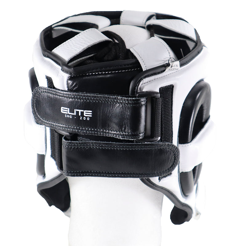 PHENOM BOXING HEADGEAR ELITE SHG200 WHITE/BLACK