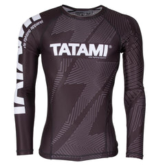 TATAMI RASHGUARD IBJJF NO GI L/S BLACK/BLACK - MSM FIGHT SHOP