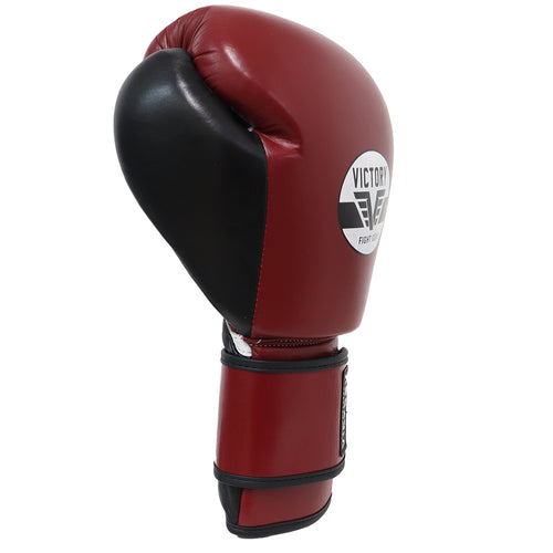 VICTORY GLOVES CLASSIC SERIES 3.0 LEATHER BURGUNDY/BLACK