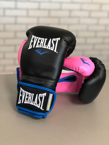 EVERLAST GLOVES POWERLOCK SYNTEC BLACK/PINK