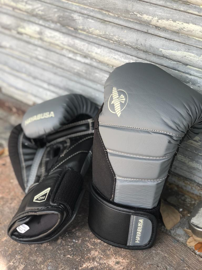HAYABUSA GLOVES BOXING T3 LIGHT CHARCOAL/BLACK