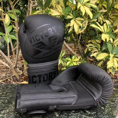 VICTORY GLOVES IMPACT PRO SERIES LEATHER BLACK