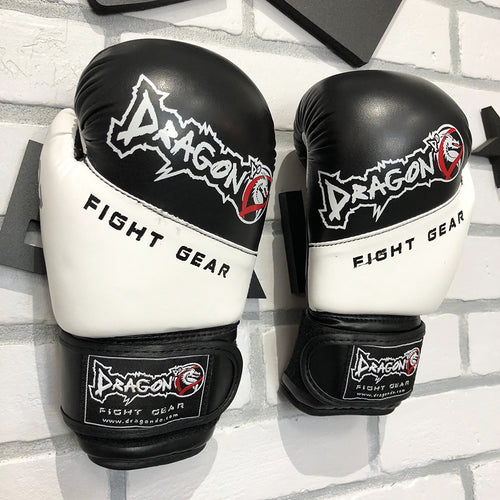 DRAGON DO GLOVES YOUTH BOXING BLACK/WHITE
