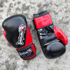 DRAGON DO GLOVES CARBON II BLACK/RED