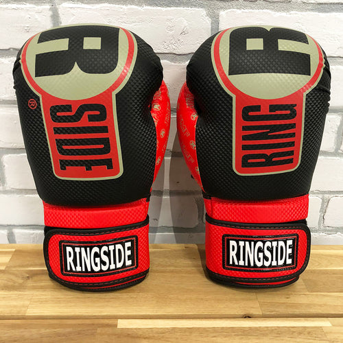 RINGSIDE GLOVES APEX FTG1 BLACK/RED