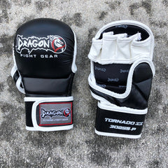 DRAGON DO MMA GLOVES TORNADO - BLACK/WHITE