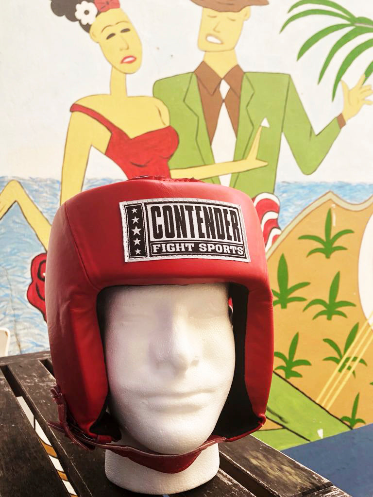CONTENDER HEADGEAR COMPETITION APPROVED AHG1 RED