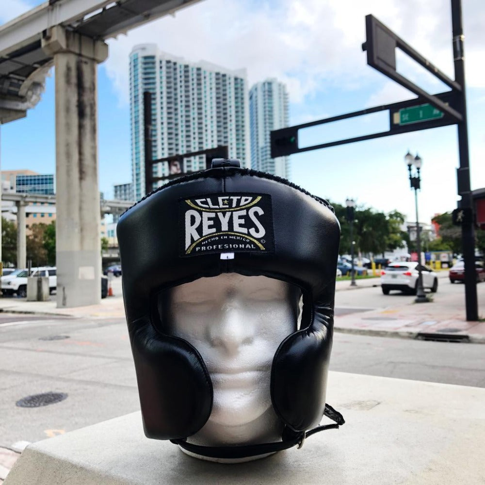 CLETO REYES HEADGEAR CHEEKS BLACK