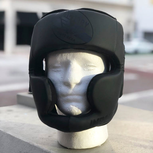 VICTORY HEADGEAR IMPACT SERIES FULL FACE STEALTH BLACK/BLACK