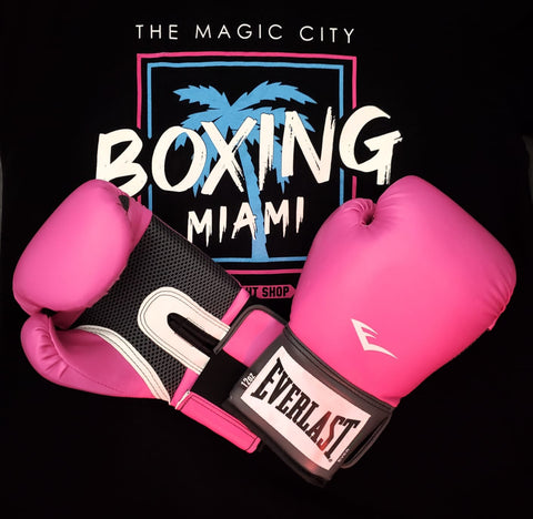 EVERLAST GLOVES BOXING PROSTYLE PINK