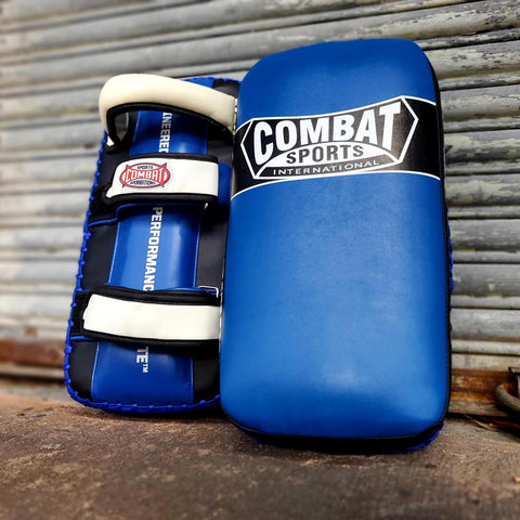 COMBAT SPORTS THAI PADS STPAD7 BLACK/BLUE