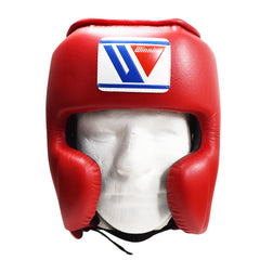 WINNING HEADGEAR FG2900 CHEEKS RED - MSM FIGHT SHOP