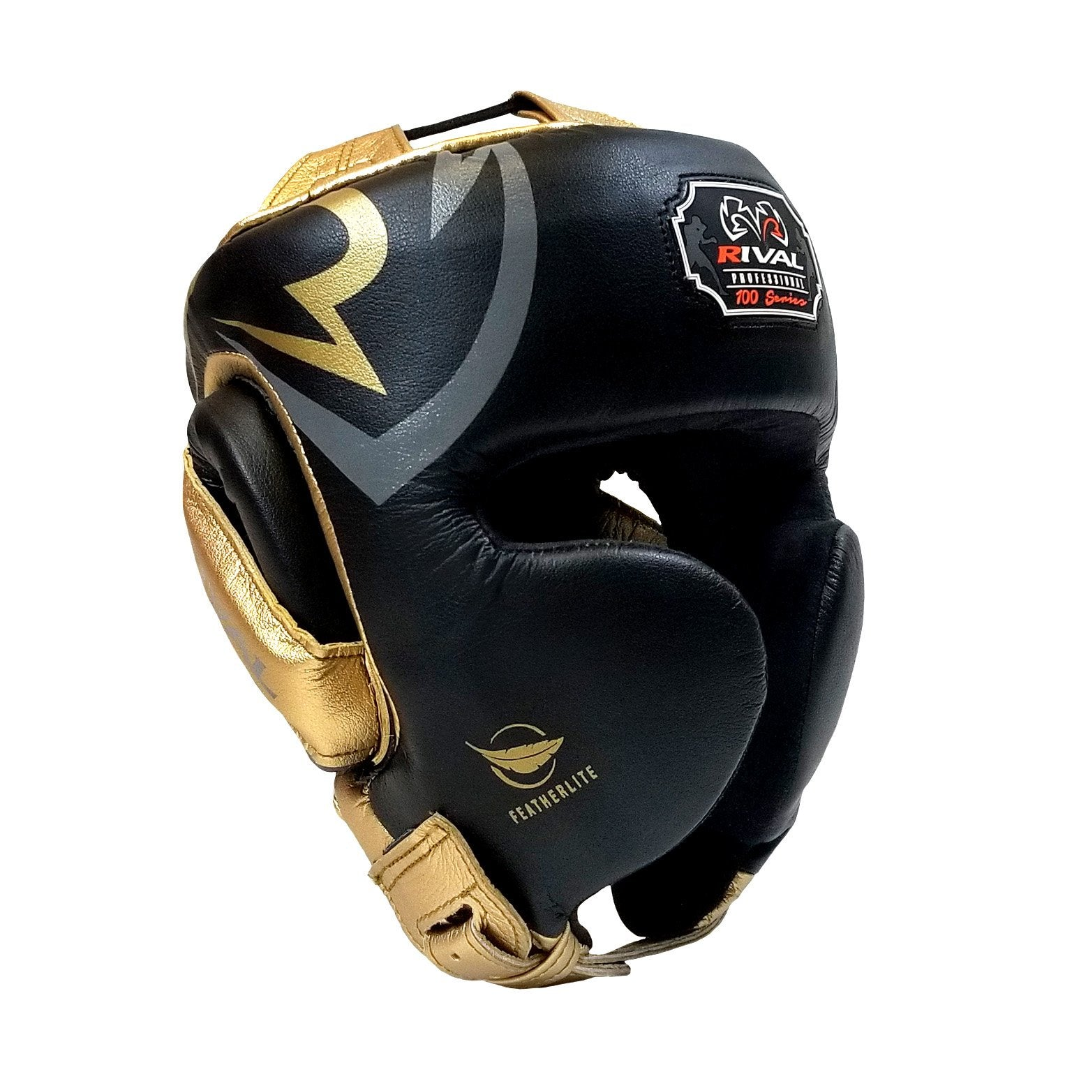 RIVAL HEADGEAR RGH100 LIMITED EDITION BLACK/GOLD - MSM FIGHT SHOP