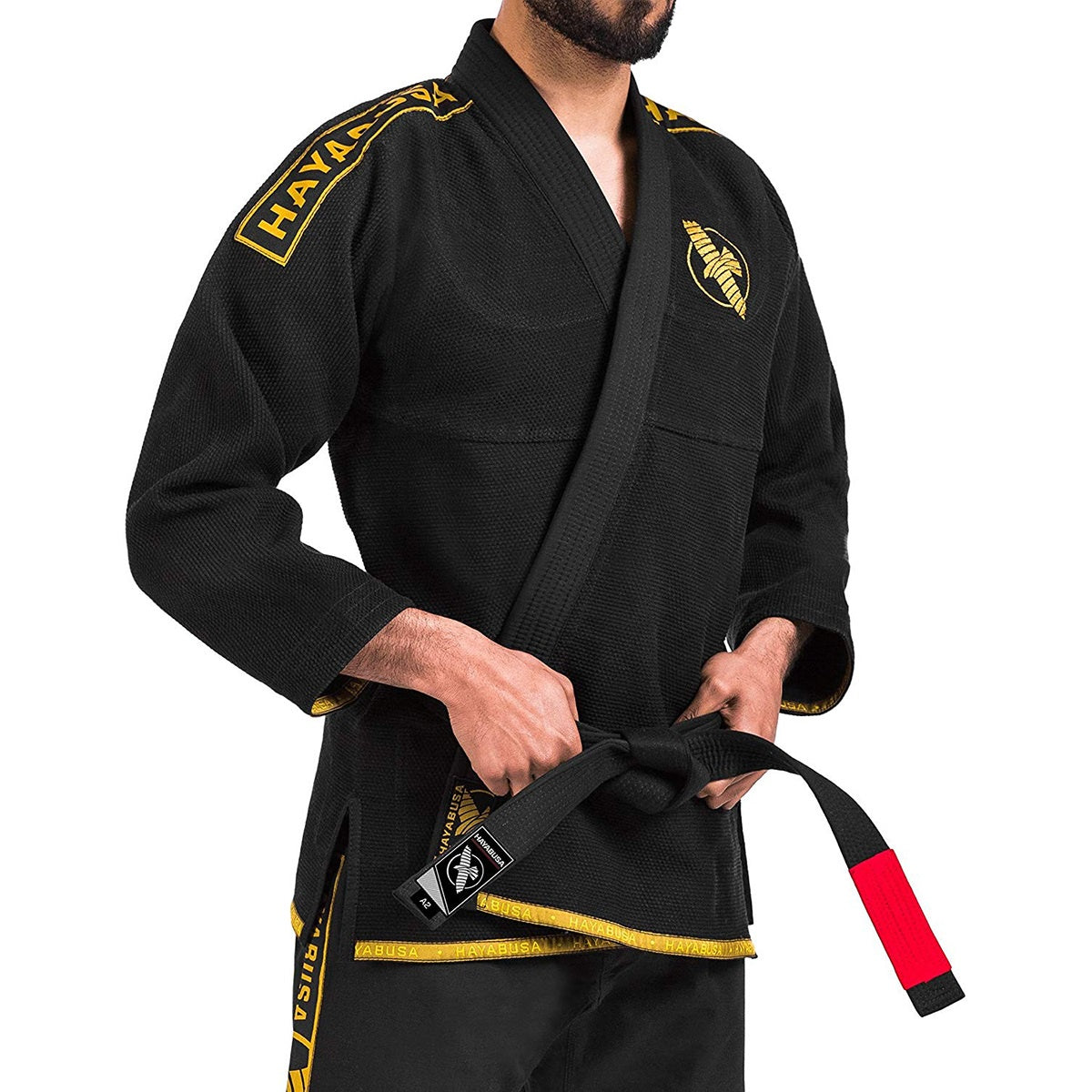 HAYABUSA GI LIGHTWEIGHT BLACK/GOLD